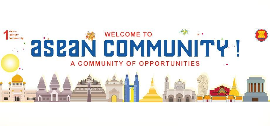 Inauguración de la Comunidad ASEAN
