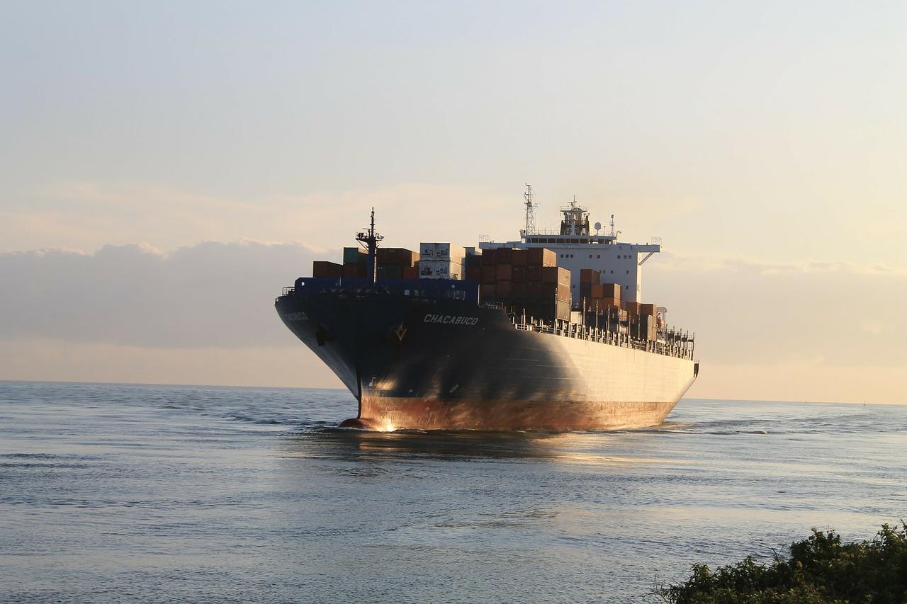 Exportación barco freight