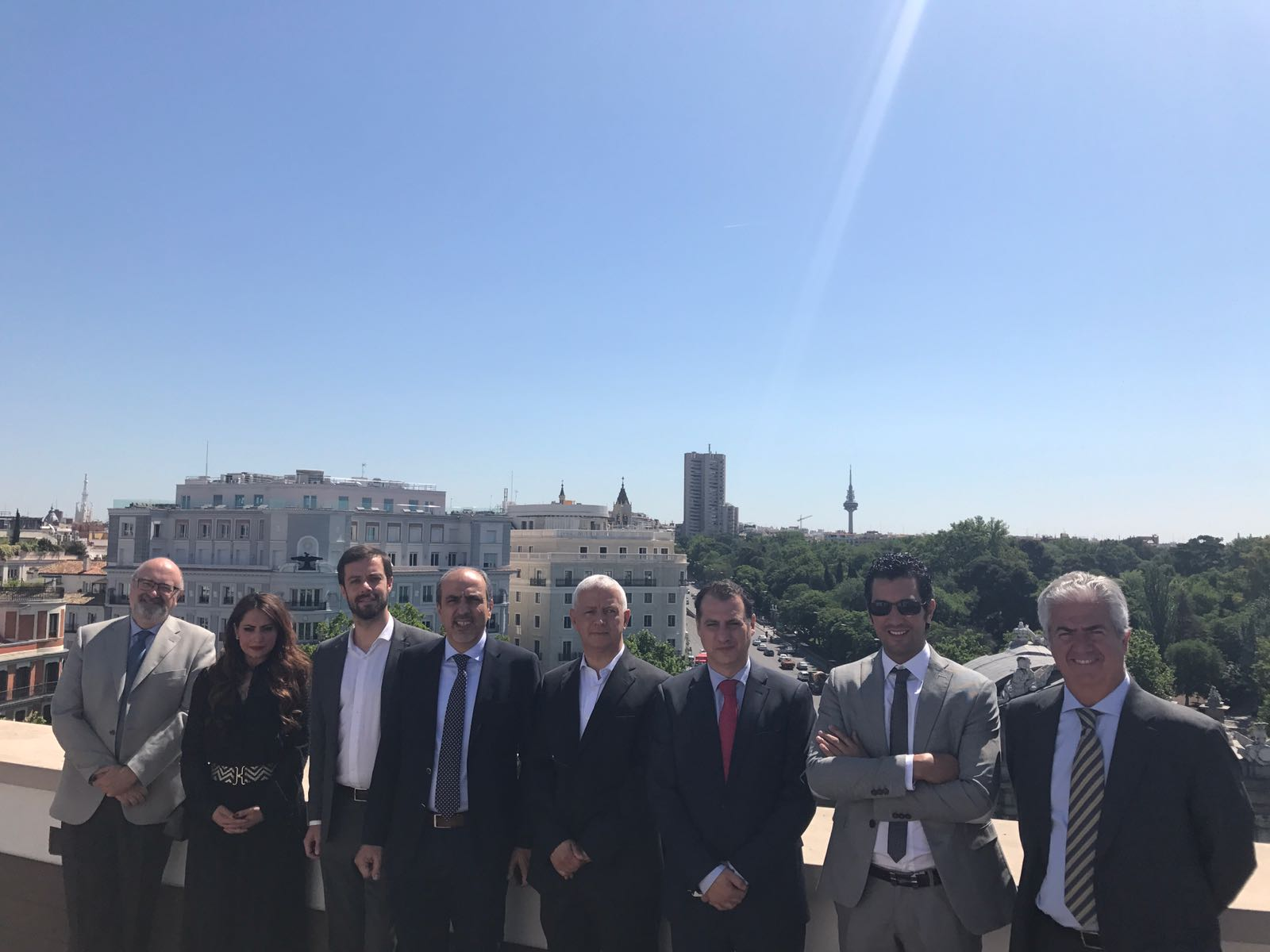 Delegación de promotores inmobiliarios marroquíes