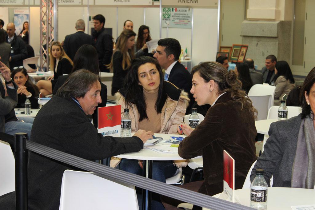 Mesa de How2Go Maroc en la Feria Imex 2018 Madrid
