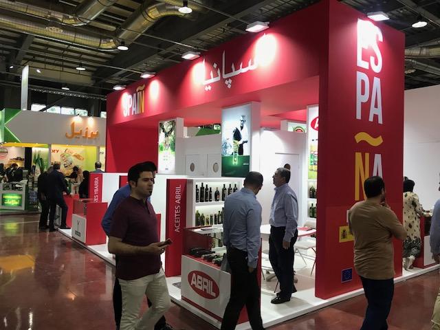 Pabellón Español en IranAgro 2018