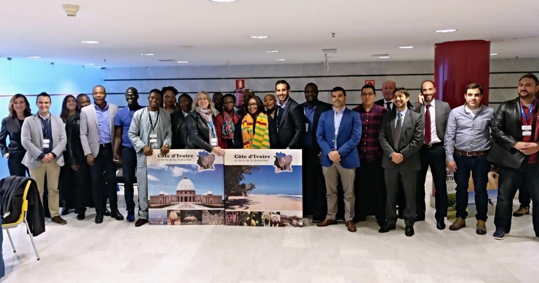 delegación de Costa de Marfil en ePower&Building 2018