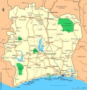 Costa-de-marfil-mapa