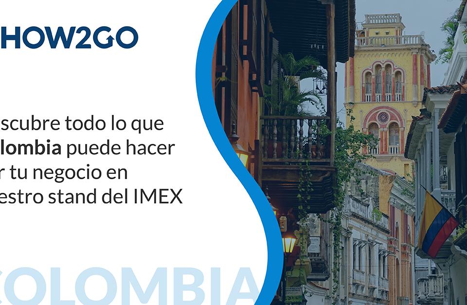 How2go Colombia estará presente en Imex
