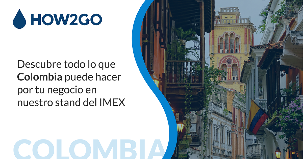 How2go Colombia estará presente en Imex