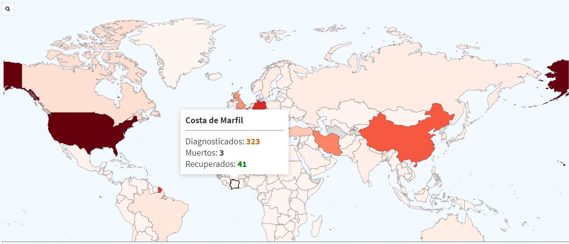 Efectos Covid-19 en Costa de Marfil