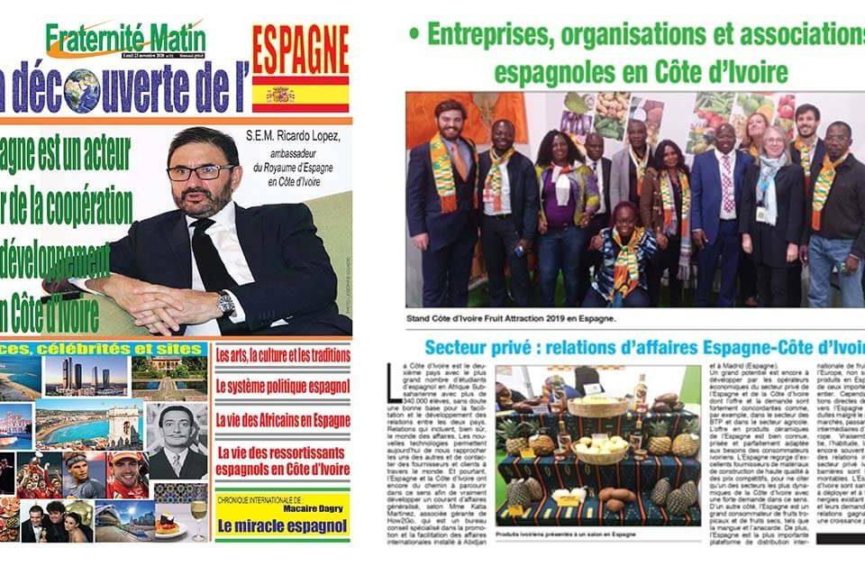 How2Go en la prensa de Costa de Marfil - Fraternité Matin