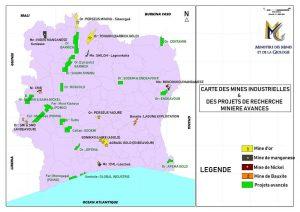 minería oro Costa de Marfil